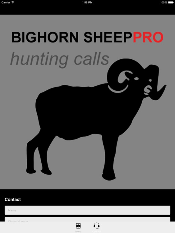 REAL Bighorn Sheep Hunting Calls - 8 Bighorn Sheep CALLS & Bighorn Sheep Sounds! -- (ad free) BLUETOOTH COMPATIBLE screenshot-3
