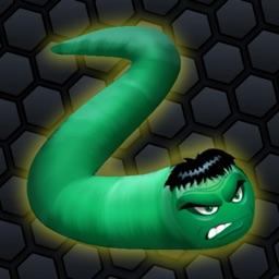 Snake Slithering - Anaconda Diep War Battle Game Edition