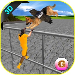 Flying Police Dog Prison Break - Prisoner Escape Jail Breakout Mission from Alcatraz