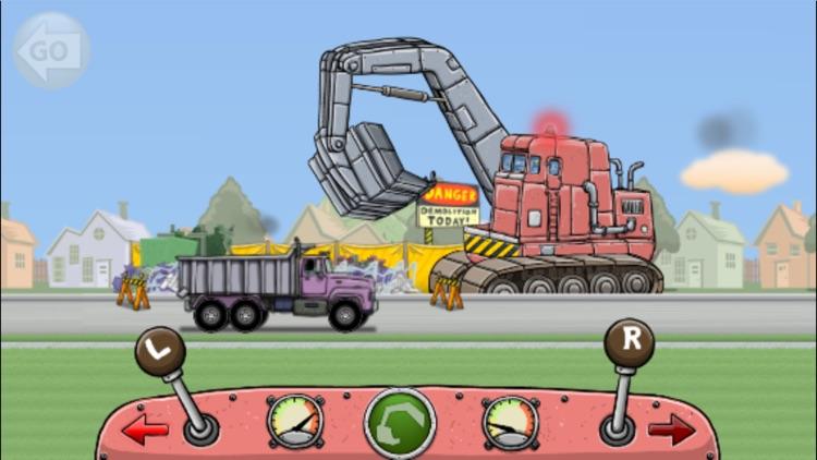 Wrecking Ball Truck