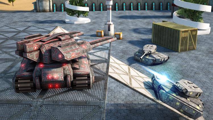 Tank Battle Shooting Game screenshot-3