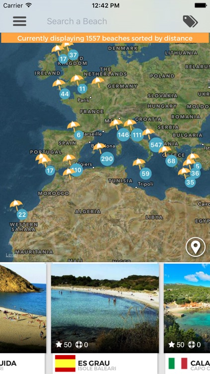 NextBeach - Explore World Best Resorts & Beaches and find tips and maps for your next summer trip