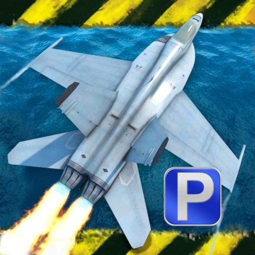 3D Fighter Jet Parking - eXtreme Flight Simulator Take Off & Landing Edition