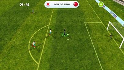 ワールド サッカー トーナメント 3D - サッカーゲームのスクリーンショット1