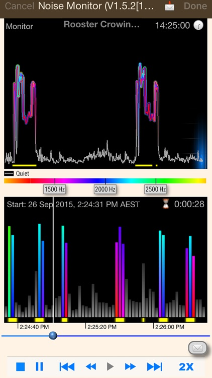 Noise Monitor and Analysis screenshot-2