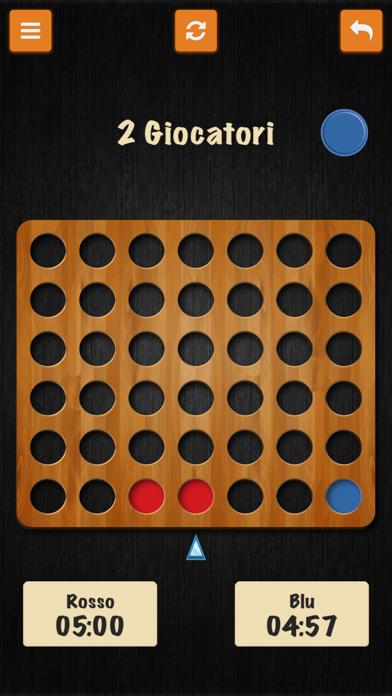 Forza Quattro • I Classici giochi italiani screenshot one