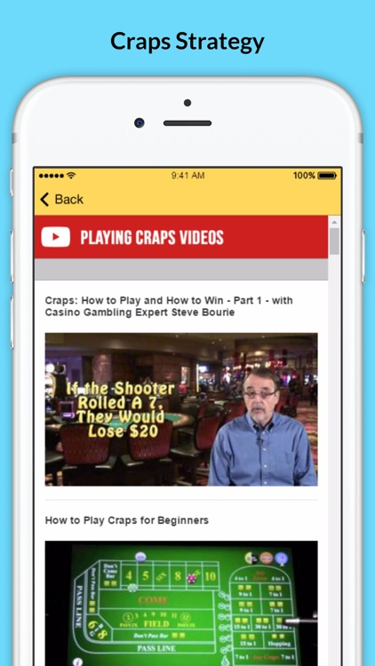How to Play Craps - Tips and Strategies screenshot-3