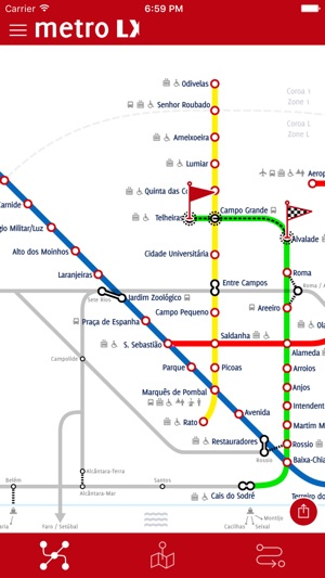 Metro LX on the App Store