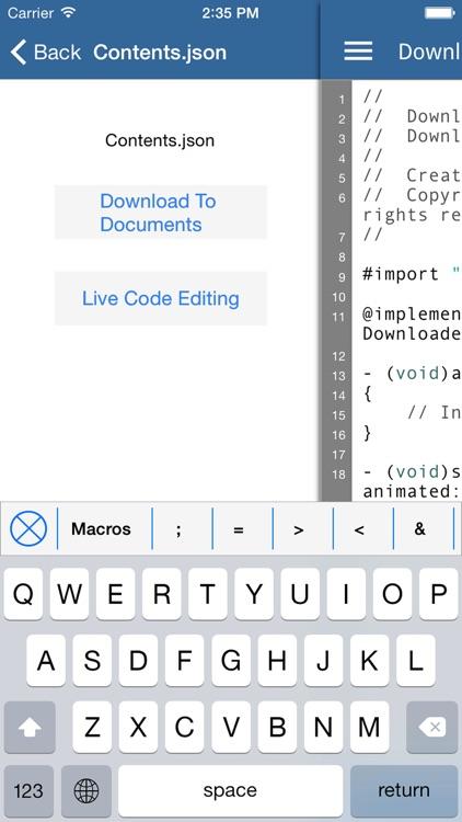 iCode: Professional Code Editor screenshot-3