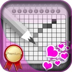 Love Japanese Crossword Premium - Cute Nonogram for Loving Couples