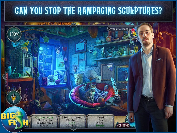 Fear for Sale: City of the Past HD - A Hidden Object Mystery (Full)