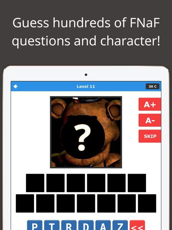 Freddy's Guess Quiz - FNaF Trivia Fan Edition Tips, Cheats