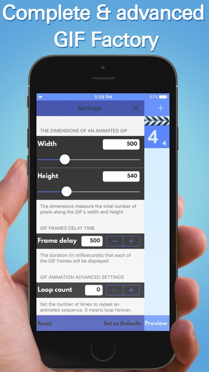 GIF Maker Pro : Create animated images from videos and photos screenshot-3