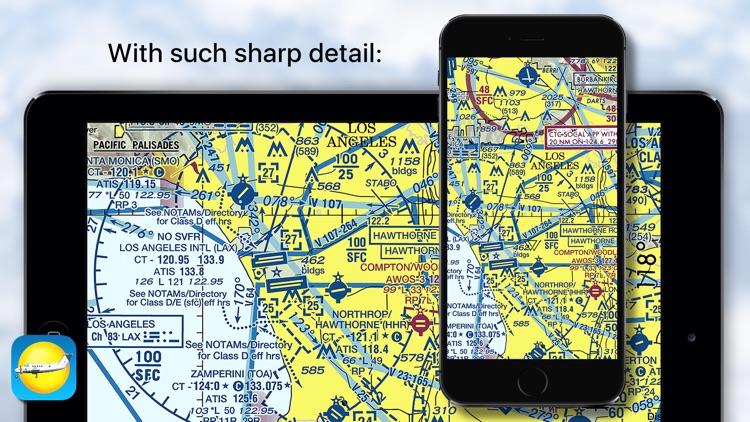 Aeronautical & Aviation Charts screenshot-4