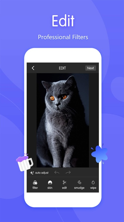 Wink - Photo Editor & live video streaming