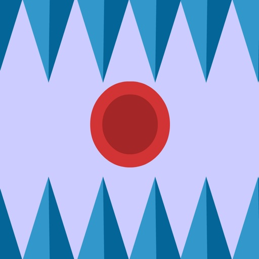 Super Bouncing Red Ball - Avoid The Spikes