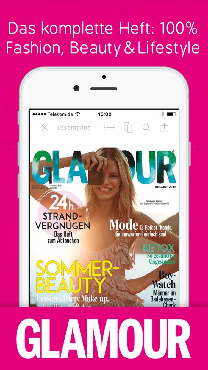 Glamour Magazin Screenshot