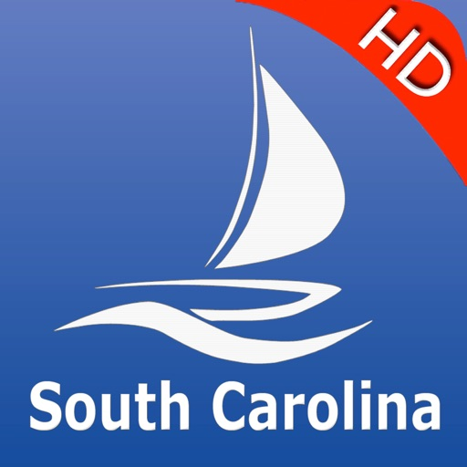 South Carolina GPS Nautical charts pro
