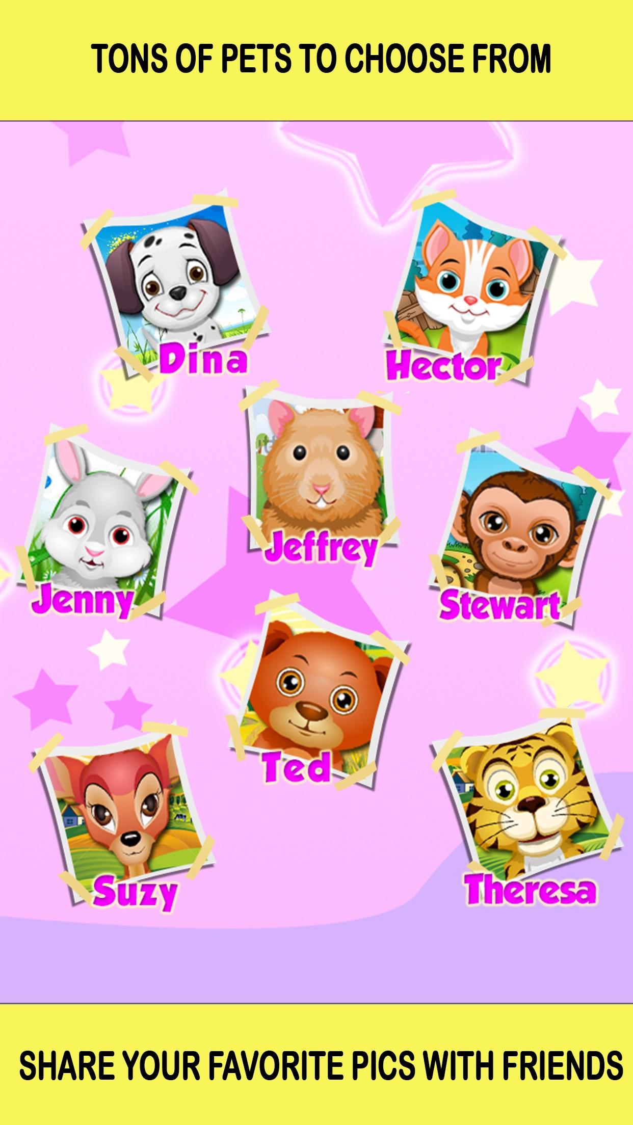 Baby Pet Hair Salon Makeover Girls Games Screenshot