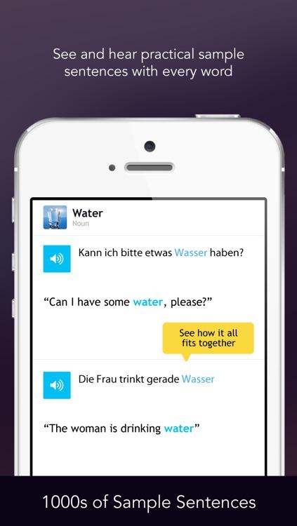 Learn German - Free WordPower screenshot-3