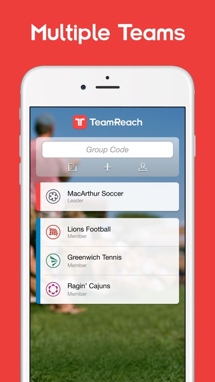 TeamReach - Team Management for Sports and Groups