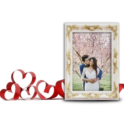 Romantic Couple Photo Frame - Amazing Picture Frames & Photo Editor ...