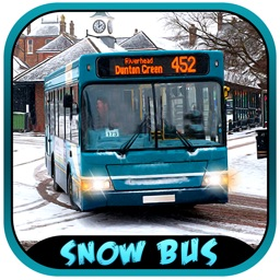 Snow Bus Driver Simulator 3D