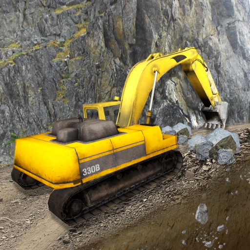 Extreme Off-Road Construction Truck Driver 3D Simulator : Legendary Excavator Game iOS App