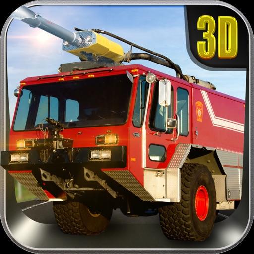 Аэропорт Спасательные грузовиков Симуляторы - Великие аэродромные виртуальные навыки вождения в реальной среде 3D трафика