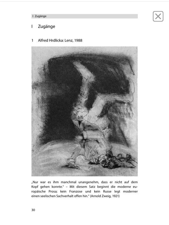 Lenz -  Edition.Hörbuch  Deutsch-Lektüren zum Lesen und Hören von Klett für Oberstufe und Abitur mit Zusatzmaterialien screenshot-4