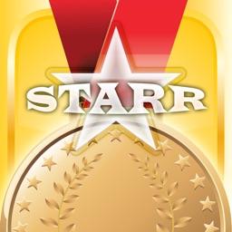 Women's Gymnastics Card Maker - Make Your Own Custom Gymnastics Cards with Starr Cards