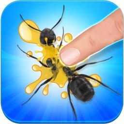 Tap Black Ants: Kids Game