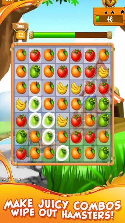 Garden Party - Puzzle Fruit Mania