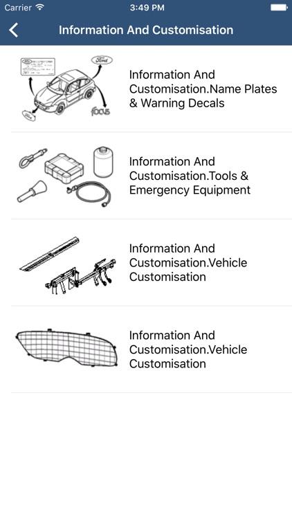 Ford Car Parts - ETK Parts Diagrams