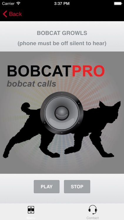 Bobcat Hunting Calls - With Bluetooth - Ad Free