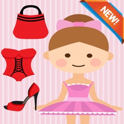 Girl Dress Up Coloring Book: fun with these coloring pages games free for kids