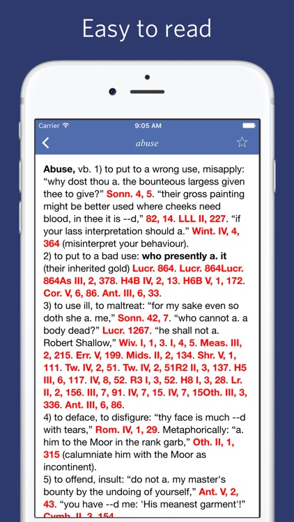 Shakespeare Lexicon and Quotation Dictionary screenshot-3