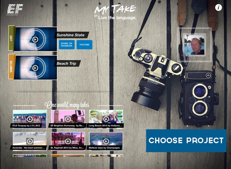 EF MyTake Video Editor for iPad