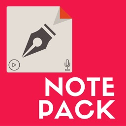 Notepack - text, audio, image & video notes