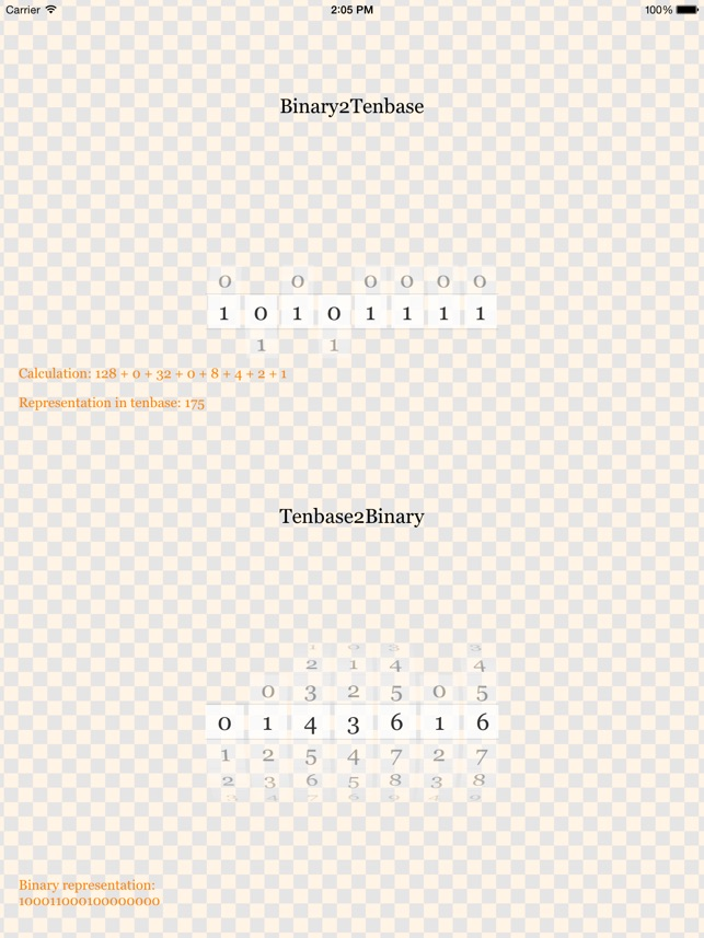 Binary2Tenbase (FREE) on the App Store on