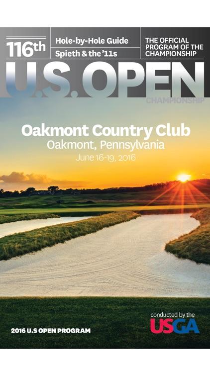 USGA eProgram for the 2016 U.S. Open