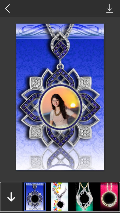 locket jewelry photo frames instant frame maker photo editor by