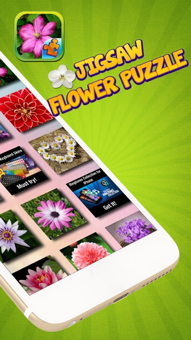 Jigsaw Flower Puzzle – Play Spring Blossom Puzzling Game and Unscramble Floral Pic.s screenshot two