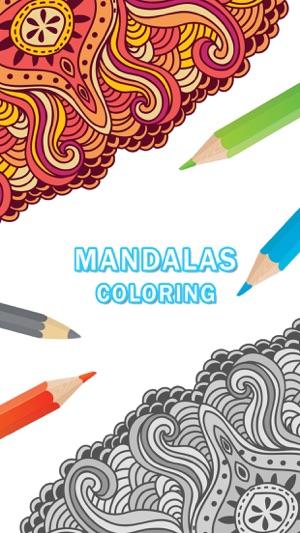 libro para colorear para los adultos: mandalas para colorear gratis ...