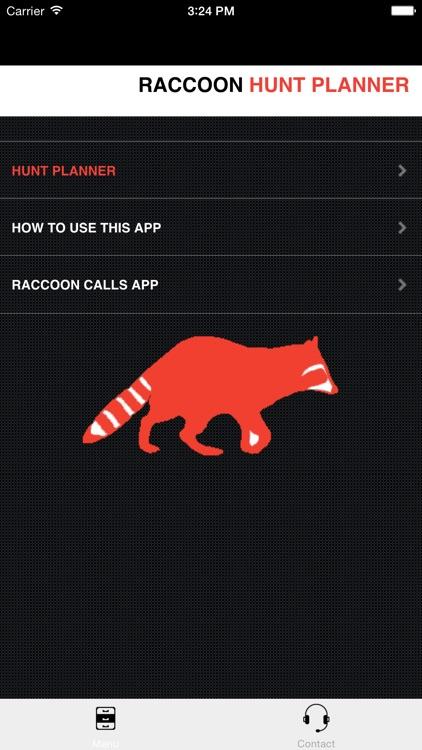 Raccoon Hunting Planner - Raccoon Hunter Strategy Builder screenshot-3