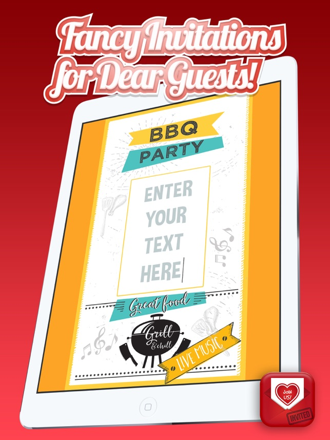Invitation Cards Maker – Create Best Invitations and