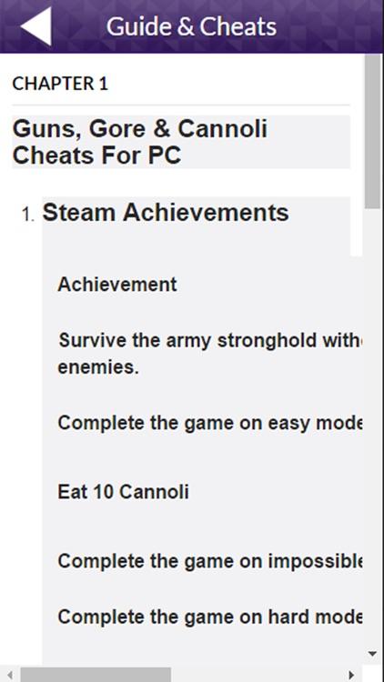 PRO - Guns, Gore & Cannoli Game Version Guide