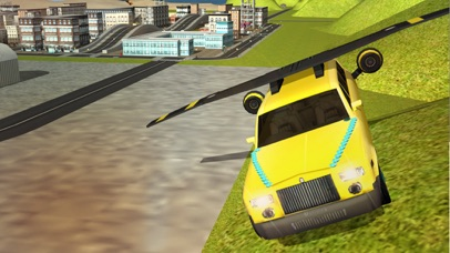 Flying Limo Car Driving Simulator 2016