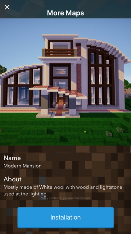 MANSION MAPS for Minecraft PE - The Best Maps for Minecraft Pocket Edition (MCPE)