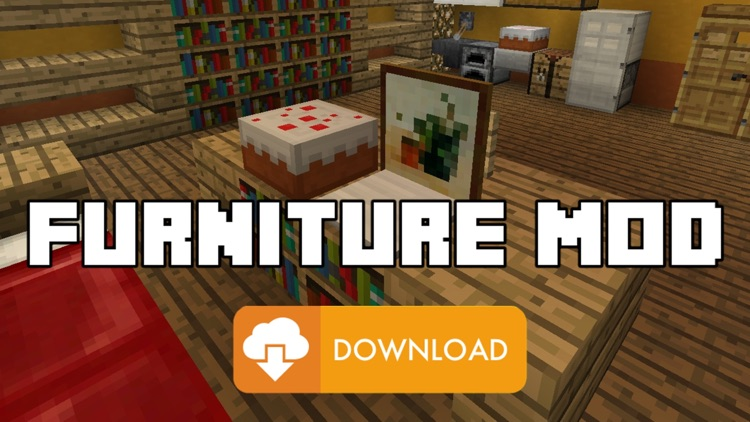 FURNITURE MODS for Minecraft PC - The Best Pocket Wiki & Tools for MCPC Edition